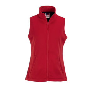 Russell_Ladies_Softshell_Gilet_Classic_Red